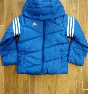 Куртка-пуховик.Зима. р 116