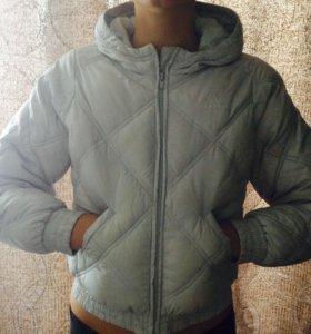 Куртка с капюшоном Адидас
