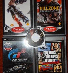 Диски с играми на PSP