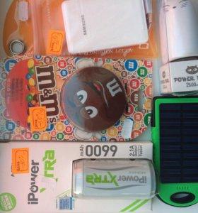 Power bank, переносной аккумулятор для телефона