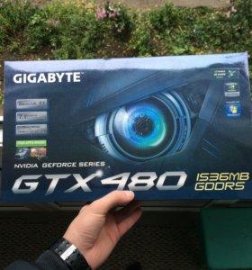 Видеокарта GeForce gtx480