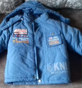 Куртка зимняя на 2-4г
