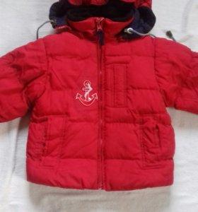 Куртка на мальчика Oshkosh  2-3 года.