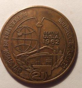 Коллекционный жетон США