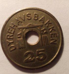 Коллекционный жетон Дания
