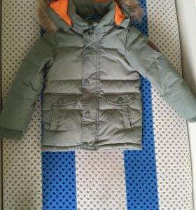 Futurino Зимняя куртка на пуху+ штаны 98 рост