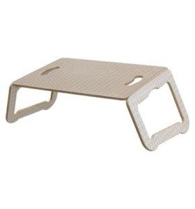 Подставка для ноутбука, белый, бежевый Брэда, икеа