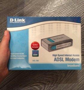 Adsl modem новый