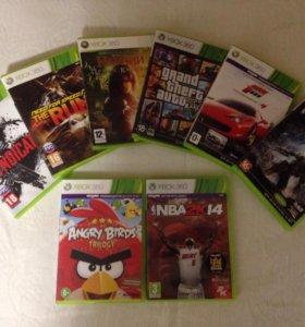 Лицензионные игры для приставки XBOX 360