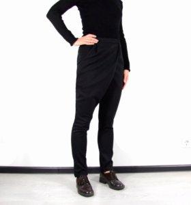 Черные брюки с запАхом