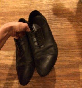 Туфли ботинки из натуральной кожи