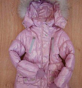 Красивая куртка на девочку 6 лет