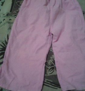 Тонкие вельветовые штанишки