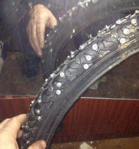 Ошиповка велосипедных покрышек