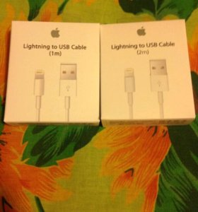 Apple iPhone5,6,iPad,original 1-2 метра lightning