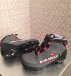 Ботинки детские лыжные. 31 размер NORDWAY Skei