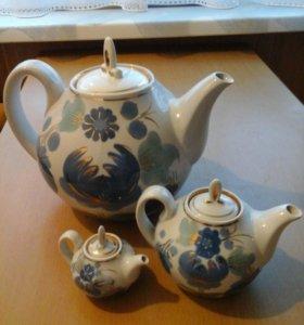 Набор чайников СССР