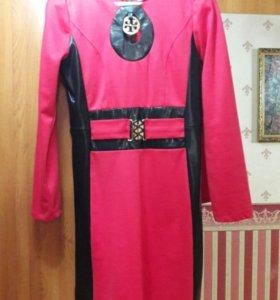 Платье бу 1 раз 46-48