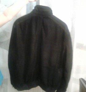 Куртка из замши.