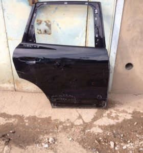 Дверь задняя правая на фольксваген таурег туарег
