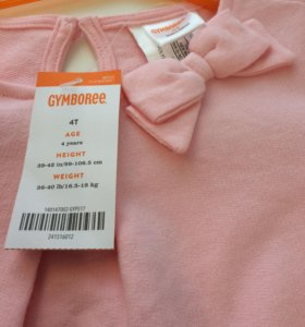 Платье Gymboree 104-110, новое