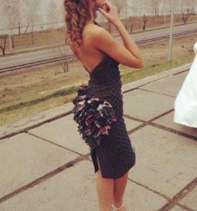 Шикарное,дизайнерское платье!