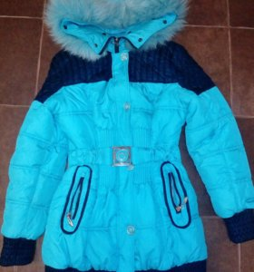 Зимнее пальто на рост 150-160