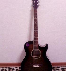 Caraya F531-BS Акустическая гитара + кейс