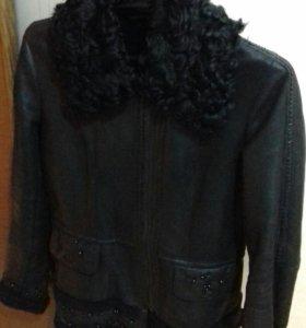 Куртка-дубленка натуральная, из каракуля