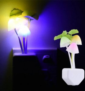 Ночник светильник грибочки