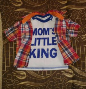 Набор рубашка+футболка