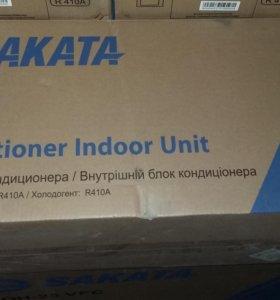 Кондиционер sakata 25кв/м-16000  на 35кв/м-19000