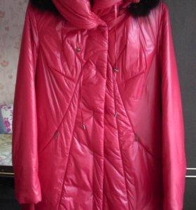 Пальто зимнее, новое, размер 48