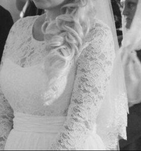 Продам свадебное (выпускное) платье
