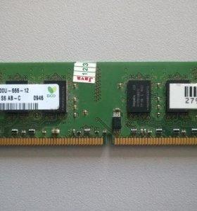 ОЗУ память ddr2 hynix 2gb 2rx8 pc2-6400u-666-12