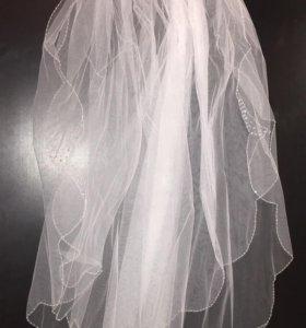 Фата + накидка to be bride