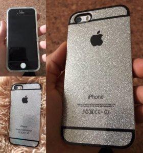 Чехлы и стекла в наличии iPhone 5,6,7