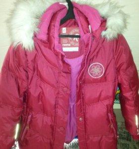 Зимняя куртка reima в отличном состояни.