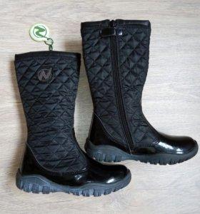 Новые сапоги Naturino