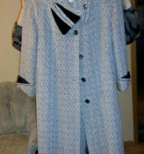Пальто женское зимнее, р-р 56-58