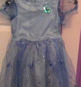 Платье на 5-7 лет