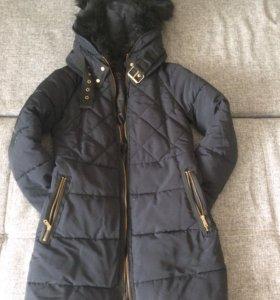 Идеально Новый зимний пуховик Zara