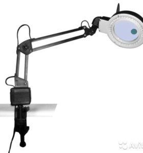 Лампа лупа Светодиодная для косметолога 2x20x-85