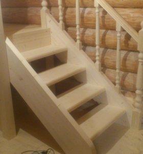Строительство деревянных лестниц