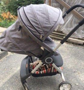 Детская коляска Stokke scoot от нуля