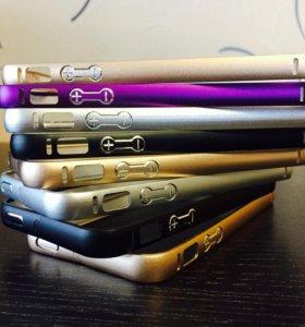 Метал. бампер для iPhone SE / 5S / 5.