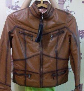 Кожаная турецкая куртка