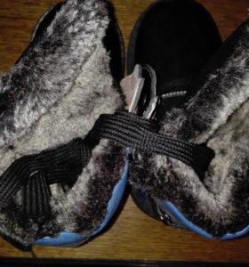 Зимние ортопедические ботинки новые 19 см