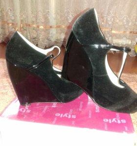 Туфли, покупала за 2000тыс.рублей, торг...
