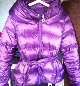 Куртка пуховик La Reine Blanche 46 48 размер
